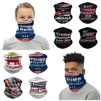 Trump 2020 New Schal Bandanas Gesichtsmaske Nahtlosrohranlagen Magie Amerika Große Stirnband Outdoor Sports Radfahren Kopfbedeckung Neck Gaiter Halten