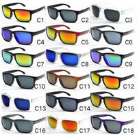 2020 뜨거운 판매 명품 선글라스 남성용 여름 그늘 UV400 보호 스포츠 선글라스 남성 태양 안경 (18 개) 색상 DHL 무료