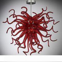 Precio barato Pequeño Iluminación LED Fuente de luz arte lámpara de cristal 100% vidrio soplado iluminación de la lámpara Habitación Sala Inicio Luz