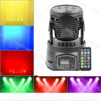 Moving Head Lights 7X10W RGBW LED Mini Beam Spot Wash Stage Lighting Mixing DMX512 Control Disco DJ Christmas Party Effect DHL