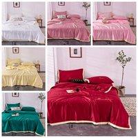 Sólido verano edredón edredón regalo lavable seda del verano delgada edredón 3 Tamaños de algodón de Down de algodón cómodo del hogar artículos de cama VT1407