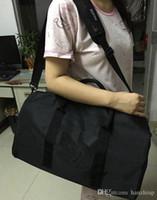 جديد حقائب نمط حقيبة السفر النساء اليوغا الرياضة مع شعار شاطئ حقيبة