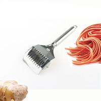 Acciaio inossidabile Noodle rullo della grata Docker pasta tagliapasta Spaghetti caffè Cucina la pasticceria Strumenti JK2007XB