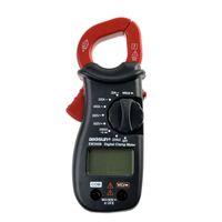 디지털 휴대용 클램프 멀티 미터 DC AC 전압 전류 클램프 미터 저항 다이오드 TestLCD 디스플레이 모든 일 EM306B