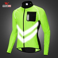 WOSAWE motocicleta reflexiva roupas vestuário Neon Anti UV Rider Jacket Homens Mulheres Reflexivo Jacket fita Brasão Anti-UV
