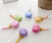 2020 Hot Sale Home Textiles Creative Cake Handduk Gift Bröllopsgåvor Födelsedagspresent Lollipop Julklappar 30 * 30cm