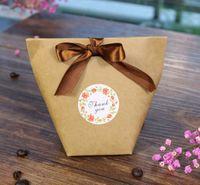 Piccolo dolce Grazie adesivo 4 colori etichetta adesiva di tenuta fiore decorazione del regalo fai da te e di cottura della torta pacchetto di diametro 35 millimetri 38 millimetri personalizzabile