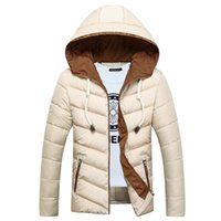 Fashion Free Shipping Men Winter Hooded Coat Down Jackets for Men Thick Outwears for Parkas Plus Size QH9366