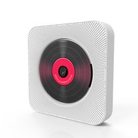 Freeshipping KC-808 Настенный CD-плеер Bluetooth Домашнее аудио Бумбокс ж / Пульт дистанционного управления FM-радио AUX наушников U Disk Music Player