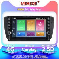 4G LTE الروبوت 9.0 سيارة دي في دي راديو لمقعد إيبيزا 6J 2009 2010 2012 2013 GPS للملاحة 2 الدين شاشة راديو صوت الوسائط المتعددة لاعب دي في دي P eZjT #