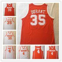 Texas Longhorns 35 كيفن دورانت 4 محمد بامبا جيرسي كلية كرة السلة الفانيلة ارتداء قميص جامعي مخيط رجل أعلى جودة