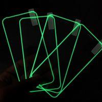 Tela de telefone celular Protetores 3D Luminous Frente temperado Film vidro Acessórios para Apple iPhone 11 XR 8 XS