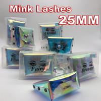 2020 New 3d Mink Eyelashes 25MM 5d Mink Eyelash Thick Long Dramatic False Eyelashes Wispy Lashes Volume Lashes Mink Lashes