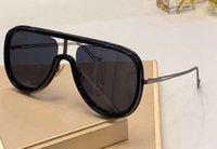 M0068S Schwarz Dunkel Ruthenium Sonnenbrille Pilot Sonnegläser M0068 Brillen Driving Gläser Fashion Shades Neu im Kasten