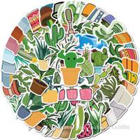 45 قطعة / الوحدة بالجملة vsco لطيف المائية الصبار والنباتات النضرة ملصقات النباتات الخضراء ملصقا للفتيات هدايا دفتر الأمتعة الشارات