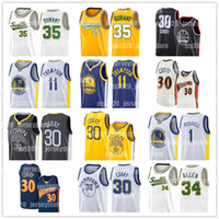 NCAA Stephen Curry 30 Basketballjerseys Klay Thompson 11 D'Angelo 1 Russell Lonzo 2 Ball Ray Allen 35 Kevin Durant Jersey