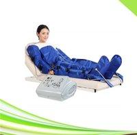휴대용 스파 림프 배수 공기압 치료 프레소 기계 해독 슬리밍 공기 압력 마사지