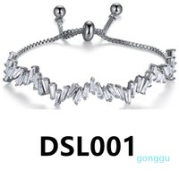 braccialetto di fascino chritmas punk d'epoca lusso- DSL011-DSL010 donne
