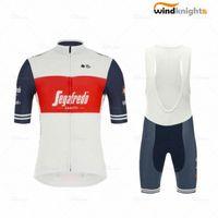 2020 2020 Hommes d'été Segafredo course Maillot manches courtes Set Ropa Ciclismo VTT Cyclisme Cuissard vélo maillot Roupa SMX9 #