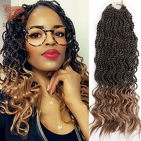 16inch Curly Senegalese Twist Braids Hair 16inch Synthetic O...