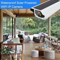 Solar WiFi IP Camera HD 1080P esterna di ricarica della batteria senza fili di sicurezza della macchina fotografica di PIR Motion Detection pallottola di sorveglianza a circuito chiuso