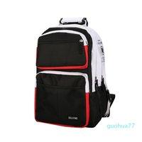 Designer-large capacity schoolbag female high school student leisure backpack chic Gangfeng Yuansu Korean Travel Backpack man