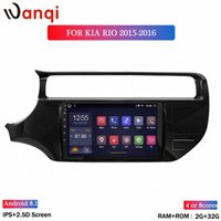 Qi Wan Android ROM 32G 2G 8.1 Car DVD Player Multimedia 9 pollici per Kia RIO 2012-2016 GPS Stereo Radio Navigation CWCC #