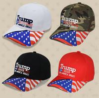 دونالد ترامب قبعة البيسبول ستار علم الولايات المتحدة الأمريكية التمويه كاب الاحتفاظ أمريكا العظمى 2020 هات 3D التطريز رسالة قابل للتعديل سنببك FFA4251