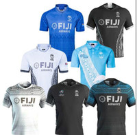 fiji Hause Rugby Trikot Sevens Olympic-Shirt Thailand-Qualität 19 20 21 fiji Nationale 7s Rugby Jersey S-3XL entfernt
