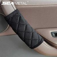 Auto-Innen Tuergriffabdeckung weicher Plüsch Armlehne Griff Schutz Interne automatische Tür Handlauf Abdeckungen Autodach-Halter-Schutz