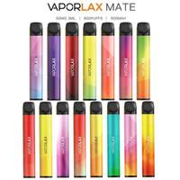 Оригинал VAPORLAX MATE Одноразовые устройства Предварительно заполненные 3мл картридж Pod 500mAh Батарея 800 Puff Vape Слейте Xtra Bar PLUS Flow 100% Authentic