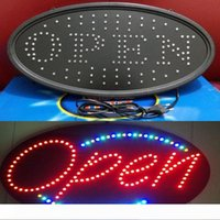 Bar LED aberta sinal luzes de néon LED ABERTO negócio aberto sinal de placa de propaganda de exibição Sinal elétrico