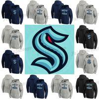 시애틀 Kraken 2021 Pullover Hoodie Jersey 32 번째 새로운 팀 남성 여성 청소년 고품질 빠른 배송 아이스 하키 유니폼 사용자 정의