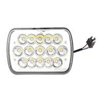 ICOCO 45W LED-Scheinwerfer Tragbare Quadrat-Form-LED-Arbeitslicht mit 15pcs LEDs für Boot Traktor-LKW-Off-Road-Fahrzeuge Großhandel