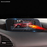 Araç GPS Navigasyon Pano Ekranı Koruyucu Gçlendirilmifl Film Araç İç Aksesuar 3 Axela 2019 2020 v2i9 # için