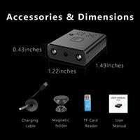 NEW 2020 년 전체 HD1080P 미니 카메라 캠코더 CCTV 적외선 나이트 비전 마이크로 캠 감시 IP / AP 모션 감지 SD 카드