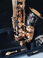 Nuova migliore qualità Nero Alto sax YAS-82Z / YAS875EX Giappone Marca Alto sassofono E-Flat strumento musicale Con livello professionale caso