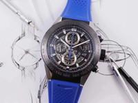 V9 XF Calera 01 Tischdurchmesser 45mm, Handgelenk 17CM, kundenspezifische Kern hohles Design, Uhren hochwertige Designer Bewegung Uhren