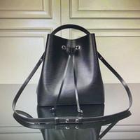 Оптовая M54370 M54366 NEO плечо сумка из натуральной кожи BUC НЭ KET Сумка Ноэ Женщины кулиской Tote Классических сумки Мода Крест тело сумка