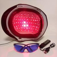 2020 upgrate 머리 재성장 레이저 헬멧 (64) 의료 다이오드 처리 빠르게 성장 캡 탈모 솔루션 머리 재성장 기계