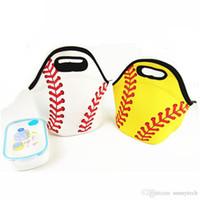 도매 네오프렌 소프트볼 점심 가방 쿨러 가방 식품 캐리어 팀 액세서리 캐리어 토트 자수 LX373 할 수있다