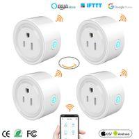 Mini US WiFi Plug Smart Timing Socket Wireless Outlet Voice Control Умный сокет Работа с Alexa Google Home Tuya App