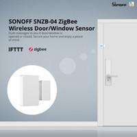 Sonoff SNZB-04 - ZigBee sans fil de porte / fenêtre du capteur intelligent Activer Lien entre ZigBee pont WiFi périphériques via eWeLink APP