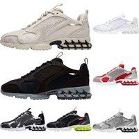 zoom femmes spridon hommes chaussures de course des Chaussures sport Citron Venom Noir Gris clair chaussures de sport gris formateurs Pure Platinum EUR36-45