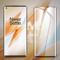 3D Gebogenes ausgeglichenes Glas-Schirm-Schutz-Abdeckung Explosion Premium Full Coverage Film-Schutz für OnePlus 8 Pro 7 7T