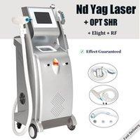 Chegada Nova IPL Laser máquina de tratamento de depilação Nd YAG Elight RF rejuvenescimento da pele Elight OPT SHR IPL corpo cara a depilação rápida