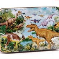 Bulmacalar Willbower Boy Dinozor çocuk yapı taşı oyuncaklar 60 parça bulmaca erken eğitim ahşap bulmacalar