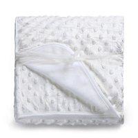Kiddiezoom cobertor do bebê recém-nascido térmica cobertor macio velo Swaddling cama Set Velvet