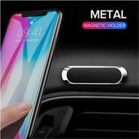 Universal Mini Magnetic Car Phone Holter Ständer Metallmagnet Mobiltelefonzelle GPS STAND CAR Mount Dashboad Wand