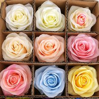 29Colors 10cm capi fiori artificiali fiore della Rosa decorazione della festa nuziale Forniture falsificazione fiore decorazioni domestiche HHA1450